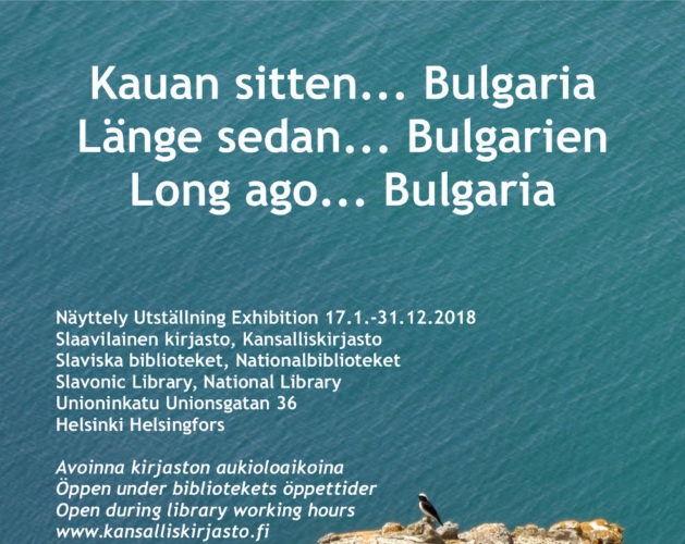 Bulgaria-exhibition in Helsinki