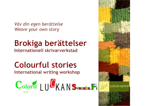 Colourful Stories – International Writing Workshop 9-11 October 2018