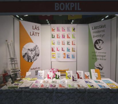 Bokpil och Colorit på Helsingfors bokmässa 2019