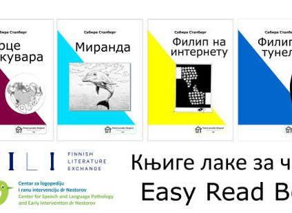 Selkokirjoja ensimmäistä kertaa serbiaksi